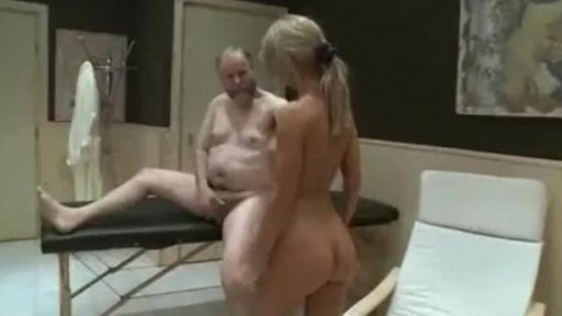 Young girls and old cock from sauna