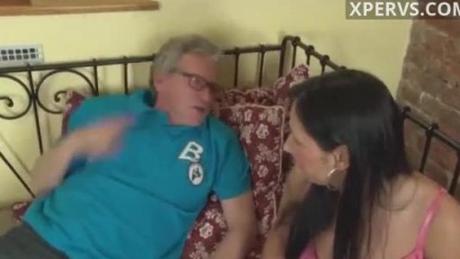 Old german fucks younger slut